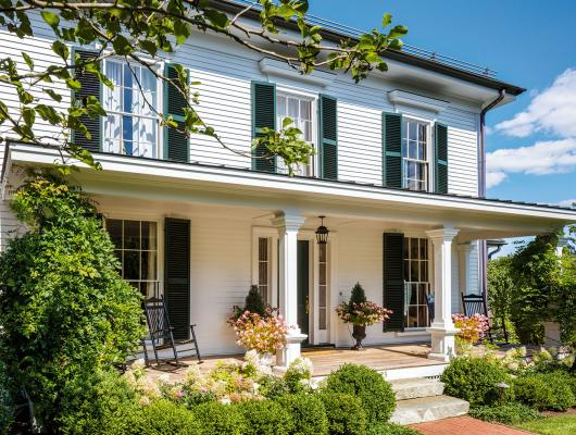 A historic renovation with a French flourish by Patrick Ahearn Architect