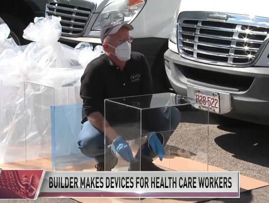 Massachusetts builders help prevent the spread of COVID-19 to Health Care Workers