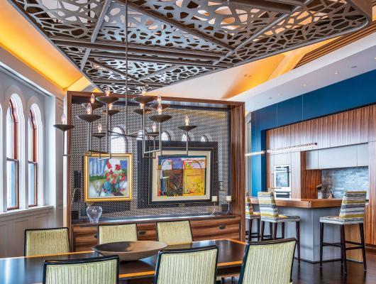 High-end Boston penthouse renovation for Kistler & Knapp Builders