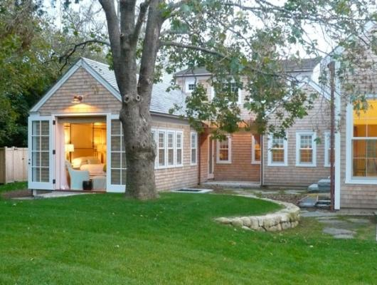 (Private Residence in East Dennis, MA: Architecture by Reed Morrison Architect; Built by C.H. Newton Builders)