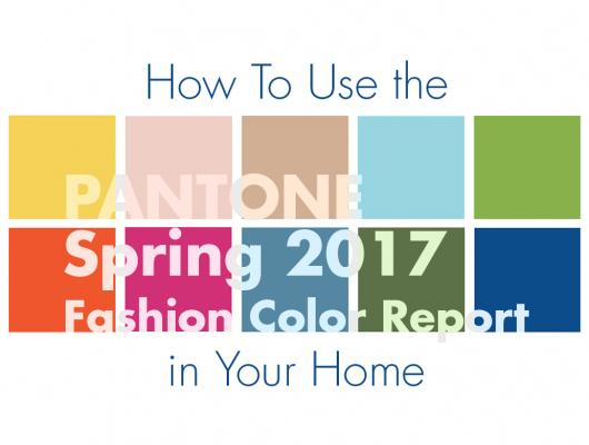 Pantone colors spring 2017 trending home design, interior design