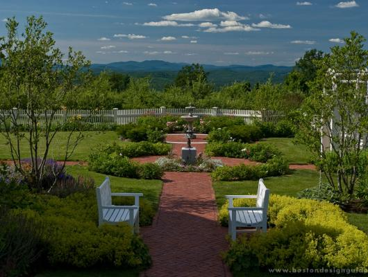 New England landscape architecture design and maintenance