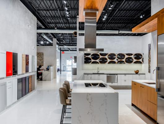 Newton Kitchens & Design showroom