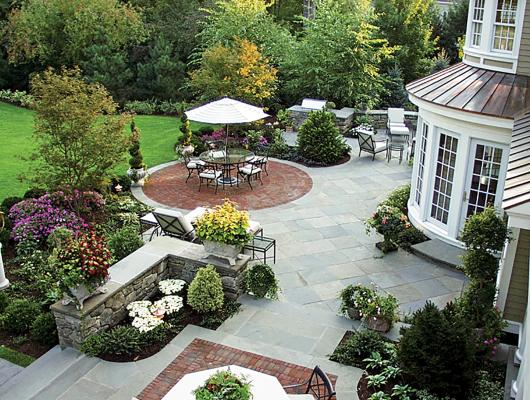 High-end landscape design