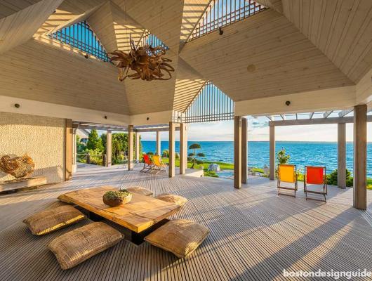 asian inspired coastal home