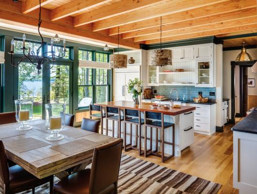 Battle Associates Architects, Wood & Clay and Mollie Johnson Interiors