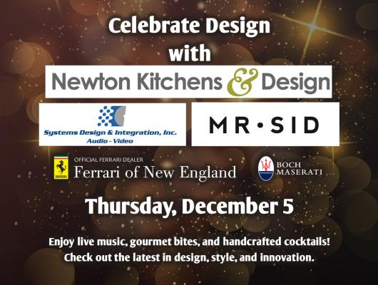 """The Best in Design"" Celebration Dec. 5 at Newton Kitchens & Design"