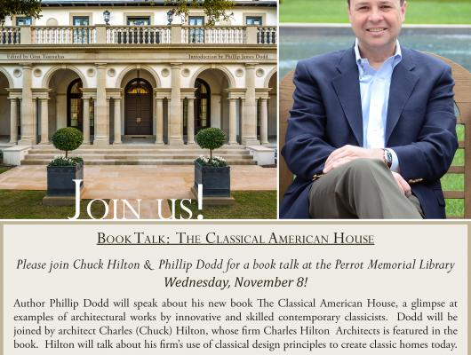 high end home builders book talk invitation