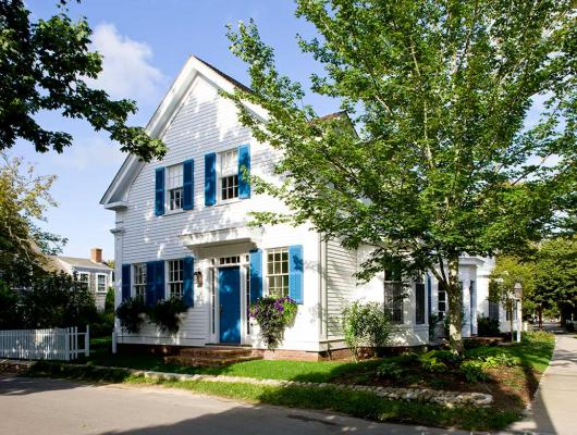 Returning The Charm To A 19th Century Captain S House On
