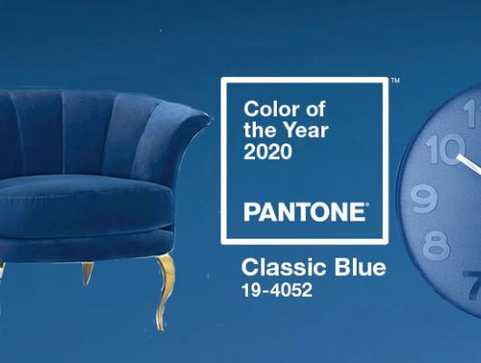 Design applications of Pantone Color of the Year 2020, Classic Blue
