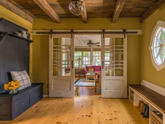 Cumming Architects Sliding Barn Doors