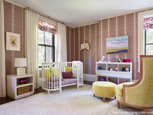 girls nursery room interior design