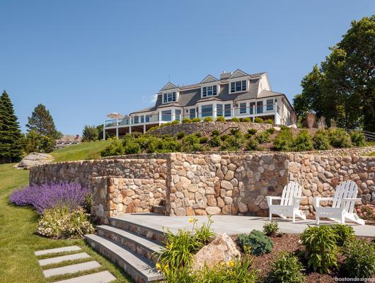 Seaside new england classic homes