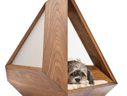 wooden dog bed holiday gift