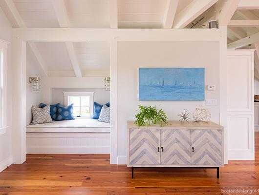 Handwovens and Nantucket interior design