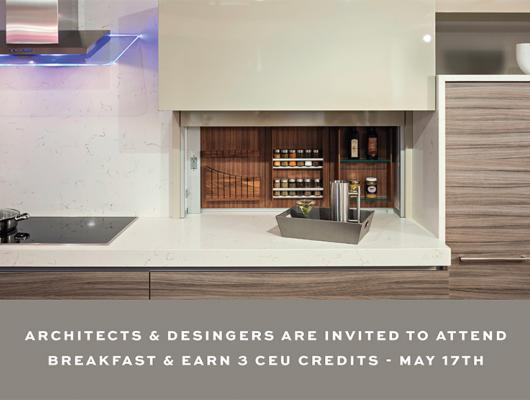 Continental Breakfast Buffet and Networking, architects, designers, event