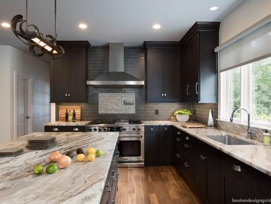 Contemporary Kitchen Transformation by Roomscapes Cabinetry & Design Center