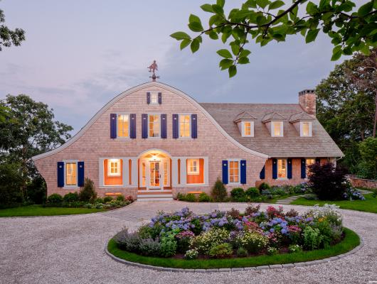 Luxury Cape Cod Shingle Waterfront Home
