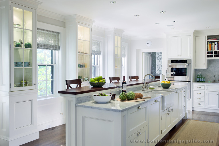 Susan reddick design inc for Greek kitchen designs
