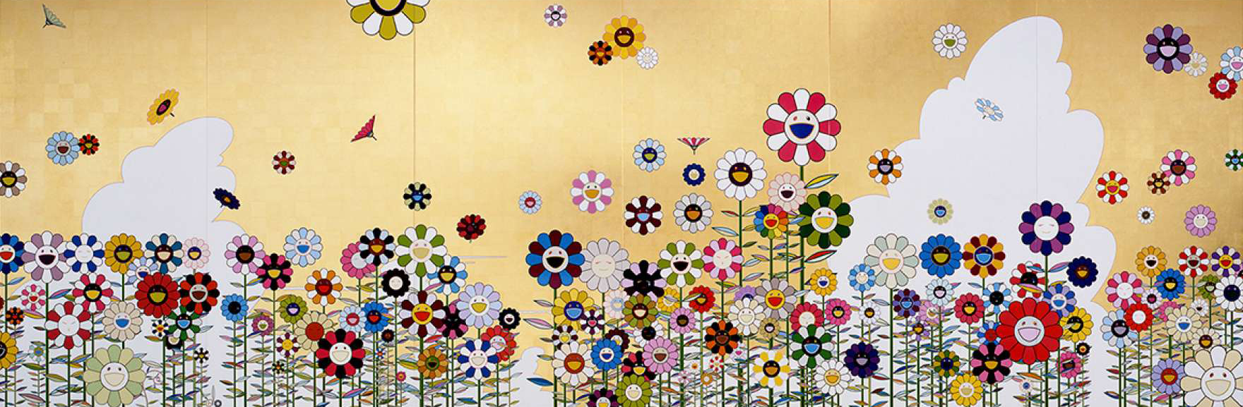 TAKASHI MURAKAMI, KAWAII - VACANCES (SUMMER VACATION IN THE KINGDOM OF THE GOLDEN), 2008