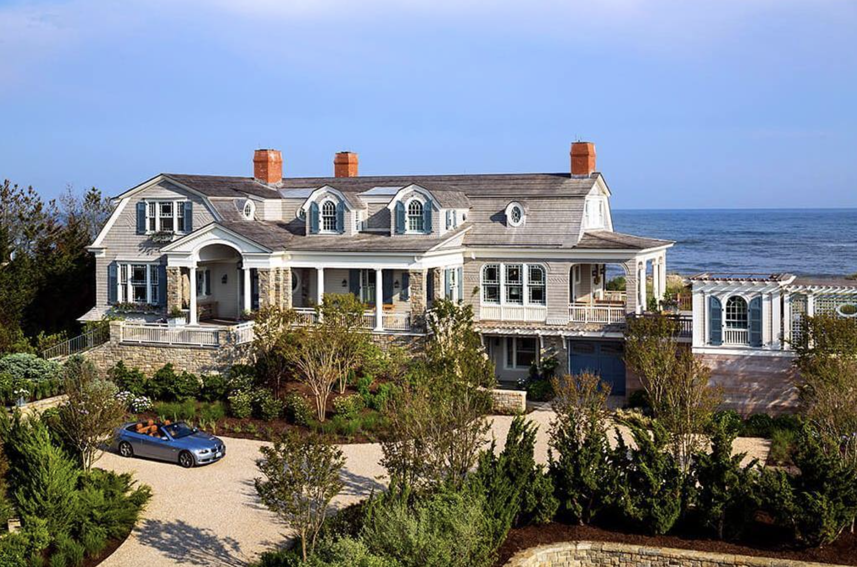 gorgeous waterfront home shutters