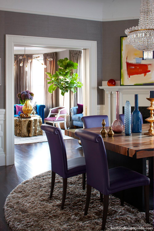 high-end home interior design in Boston