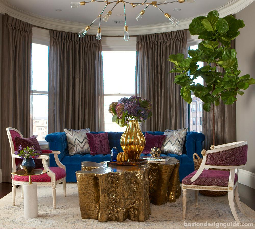 luxury interior design in Boston