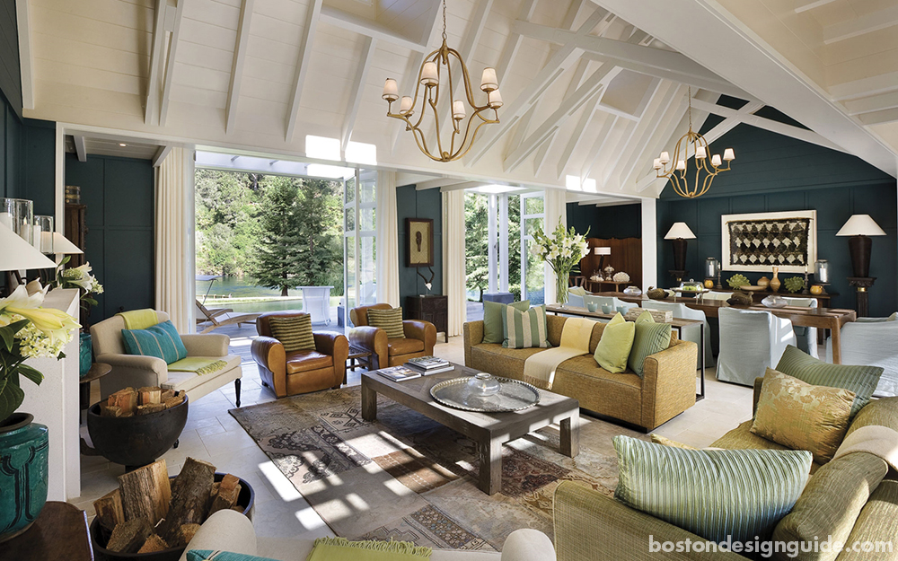 New England homes inspired by travel