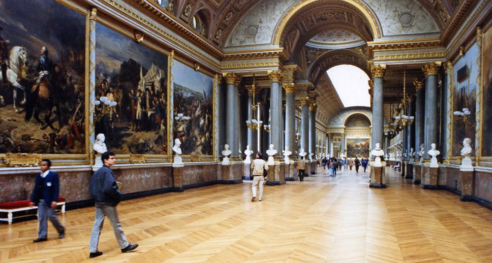 The Louvre design inspiration
