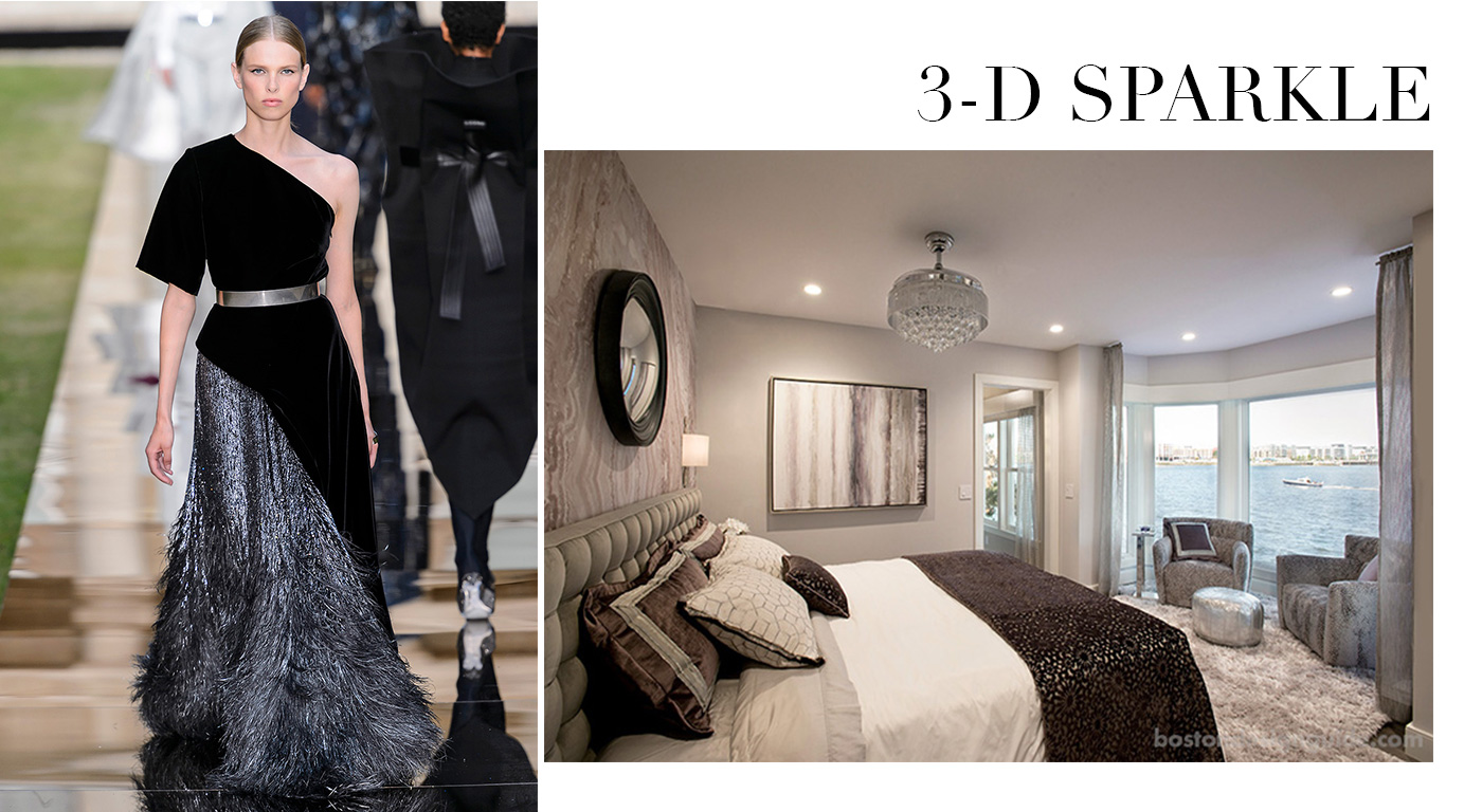 Fall Fashion in the Home, 3-D Sparkle
