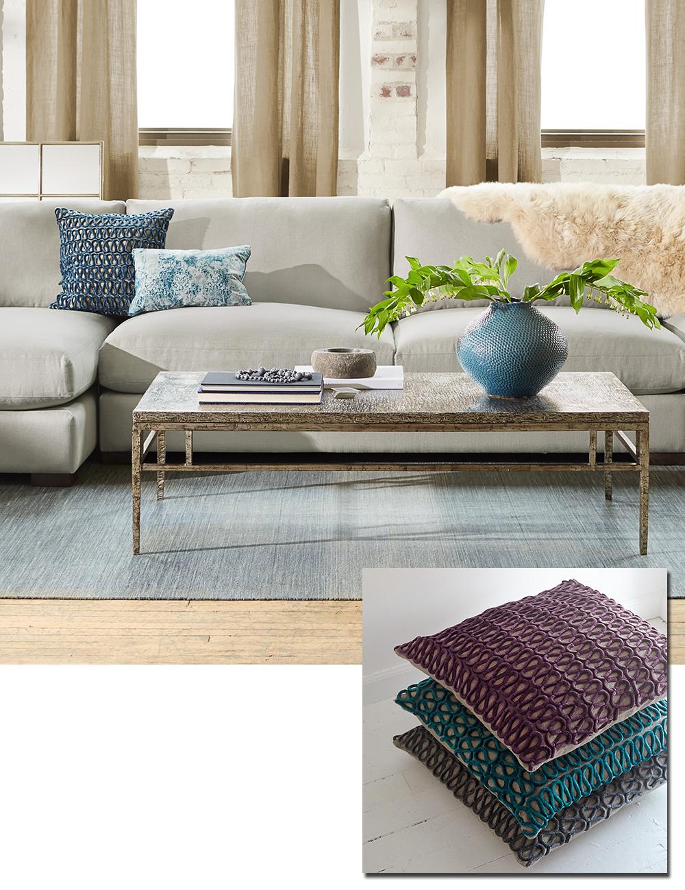 Velvet Furniture and pillows