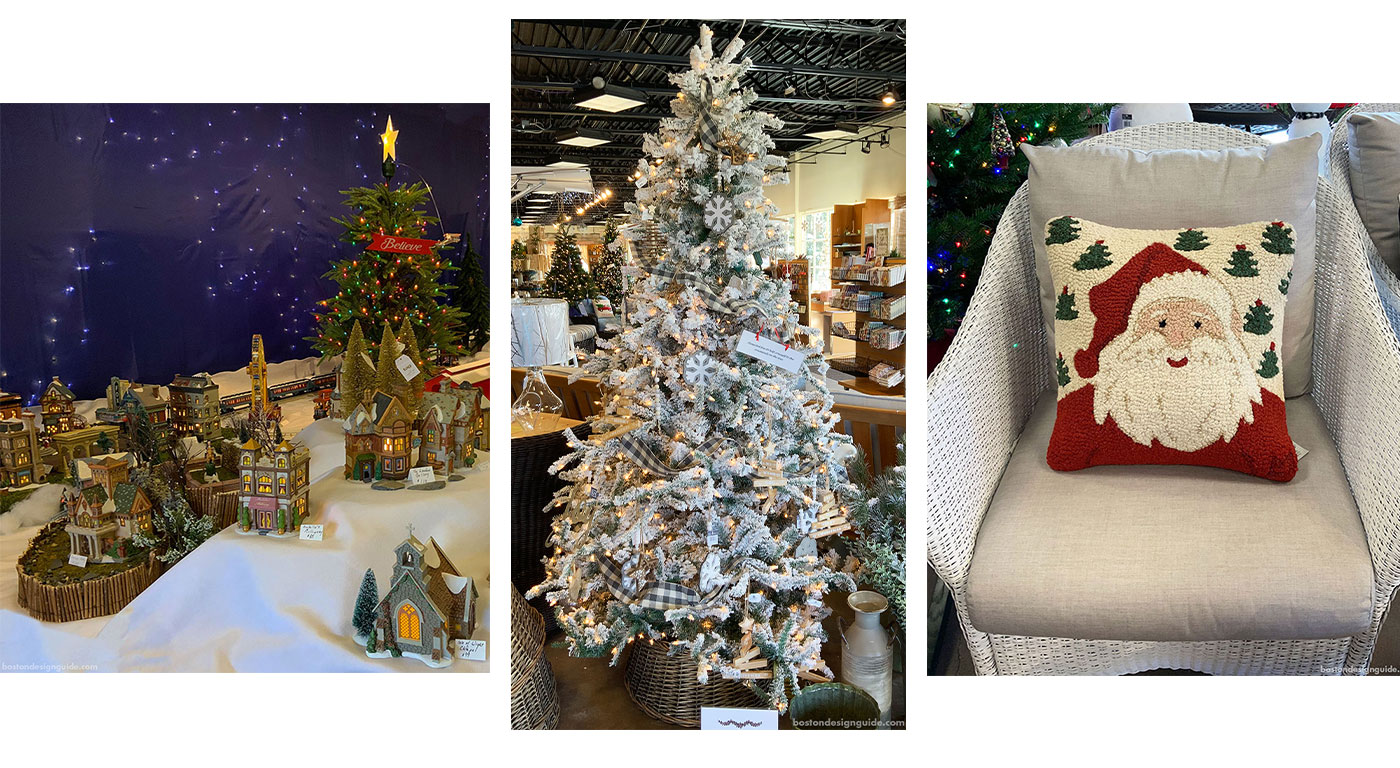 Traditional holiday home accents at Seasons Four