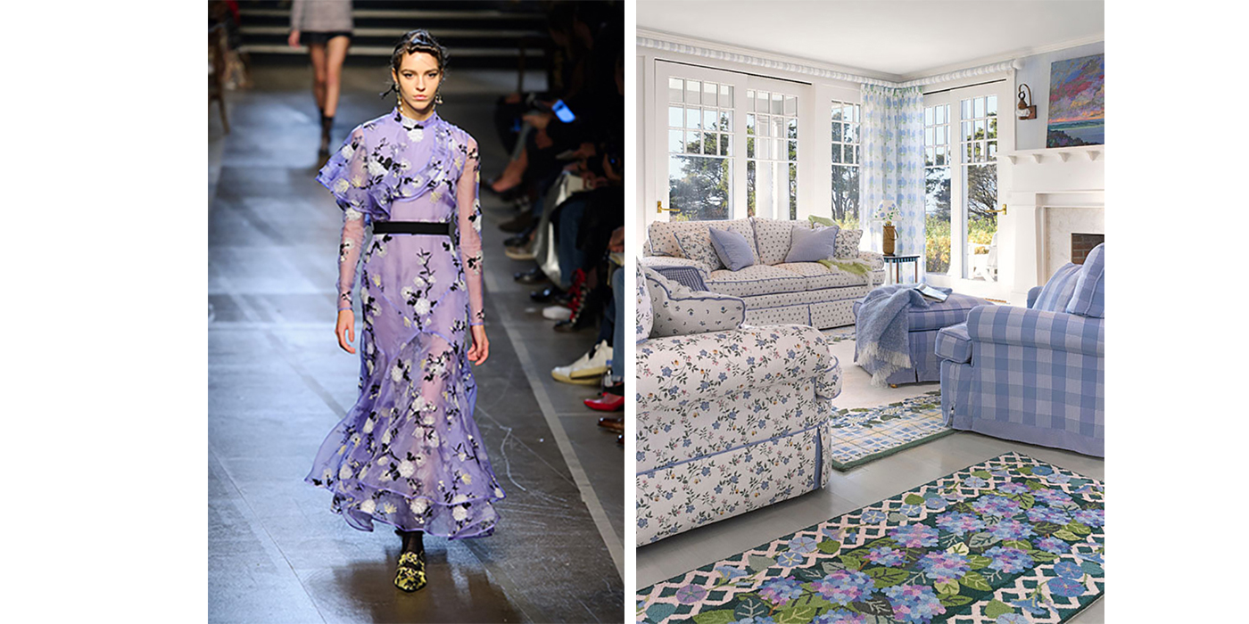 lavender in home design and fashion