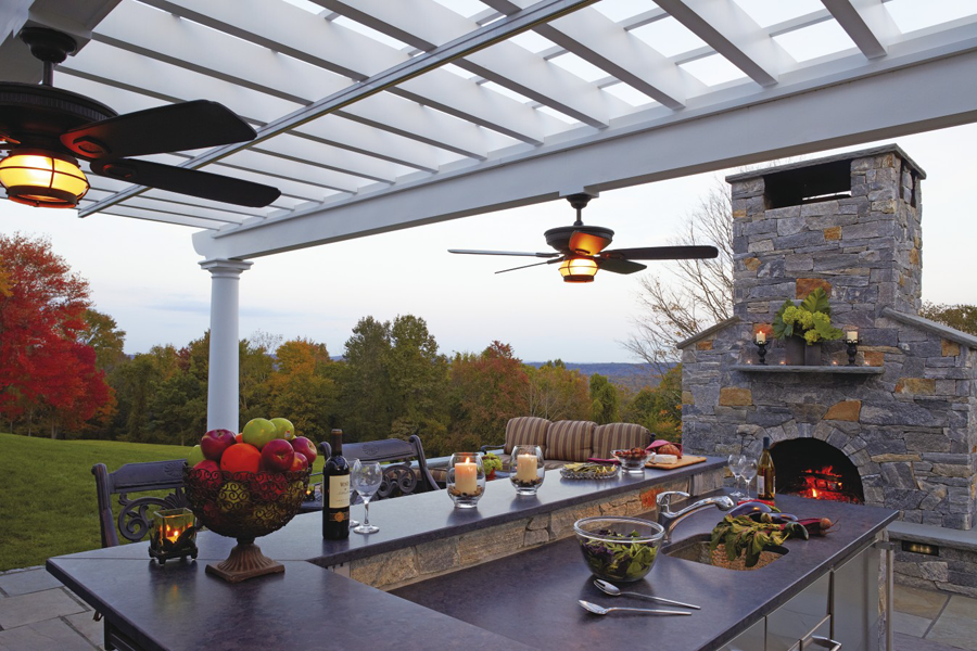Fired Up For Outdoor Kitchens