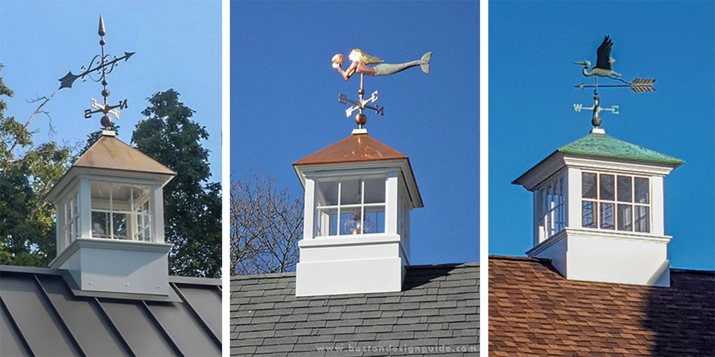 Handcrafted cupolas and weather vanes by Cape Cod Cupola