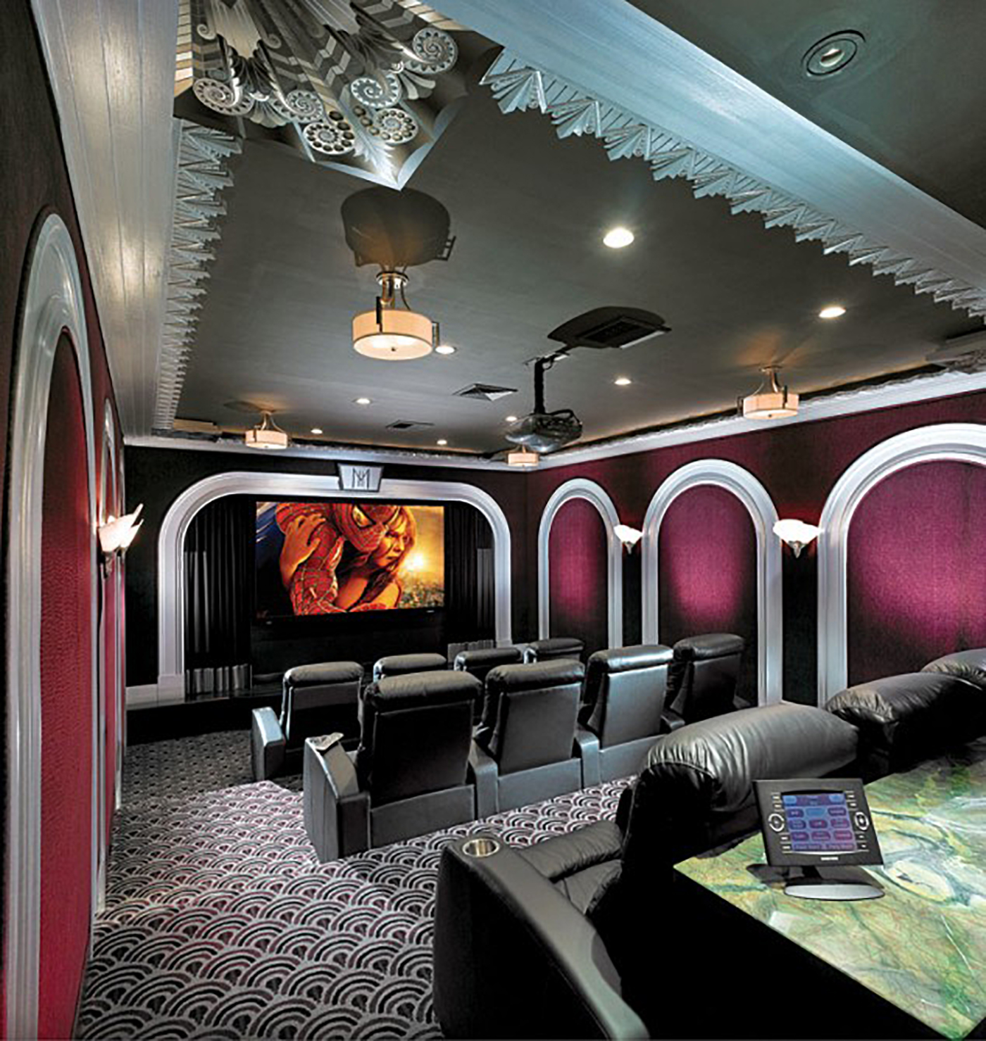Premium home theater