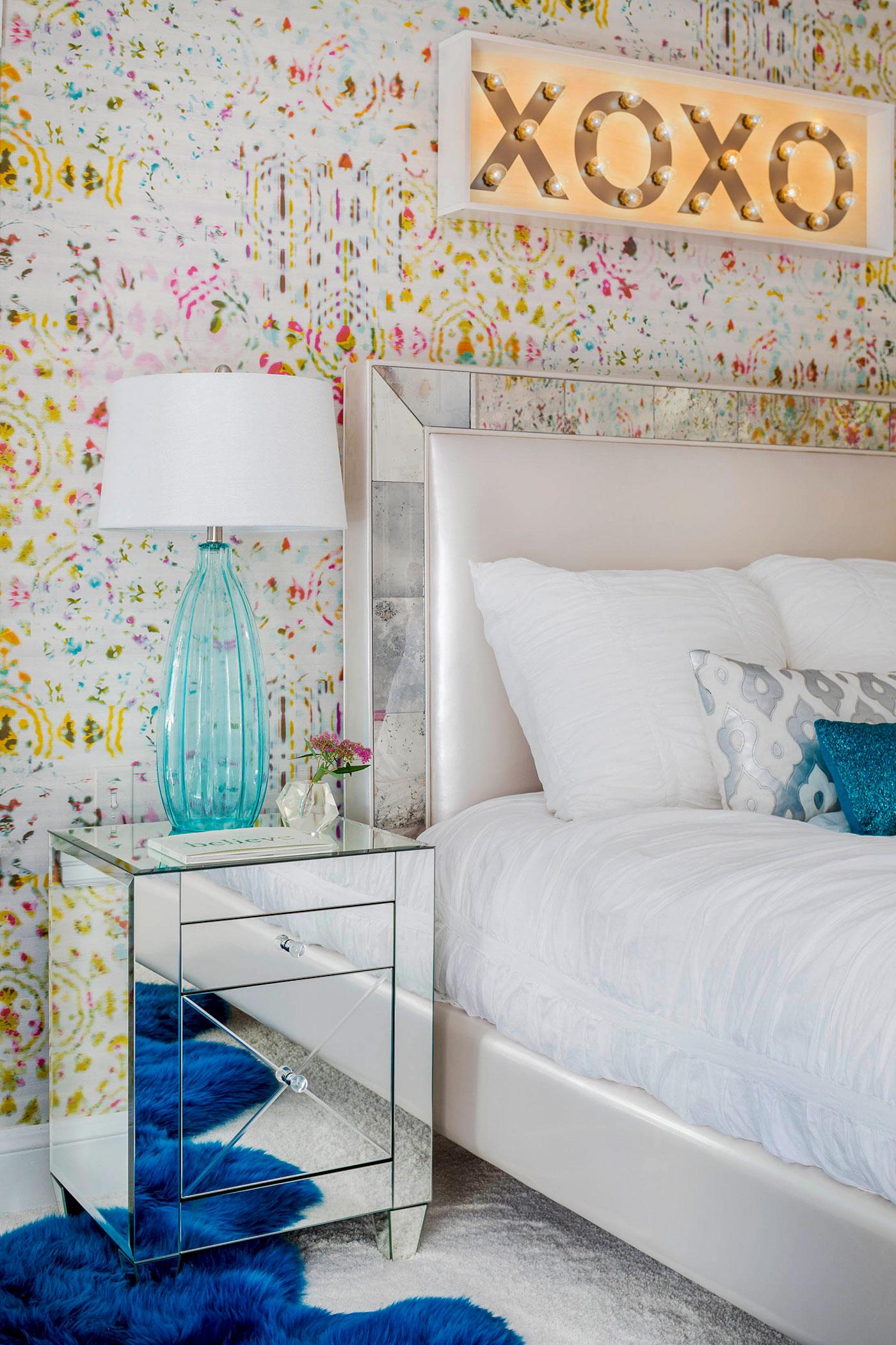 Teenage Girl's Bedroom by Heather Vaughan Interior Design