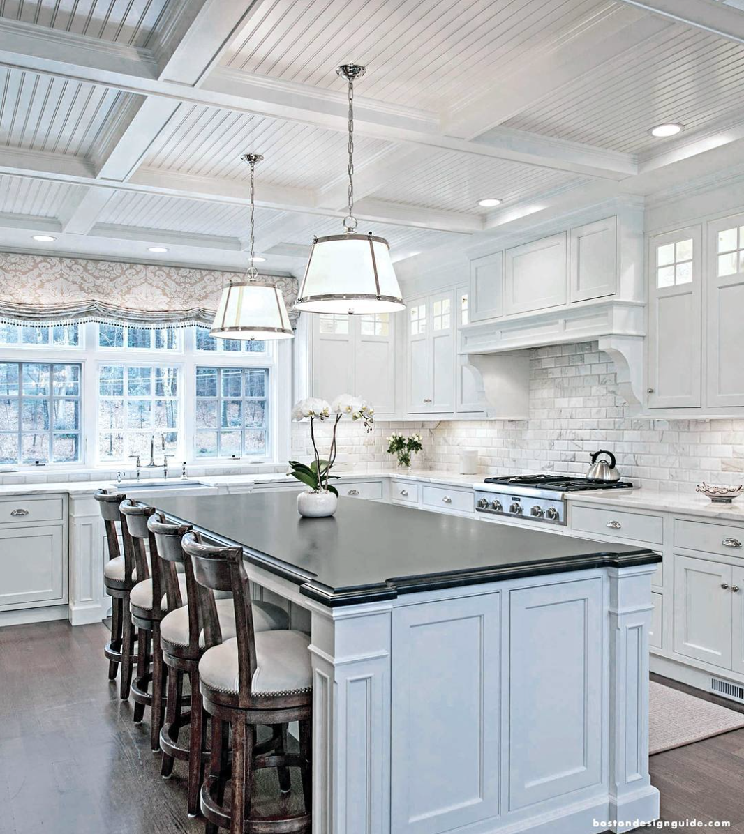 Beautiful white kitchens