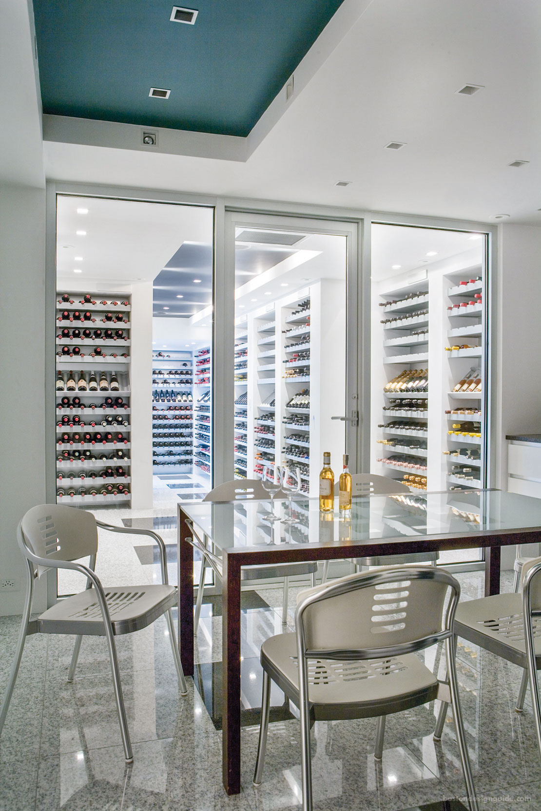 Icelandic wine cellar by S+H Construction