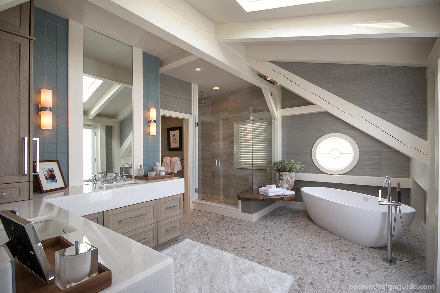 Master Bath Natural Renovation