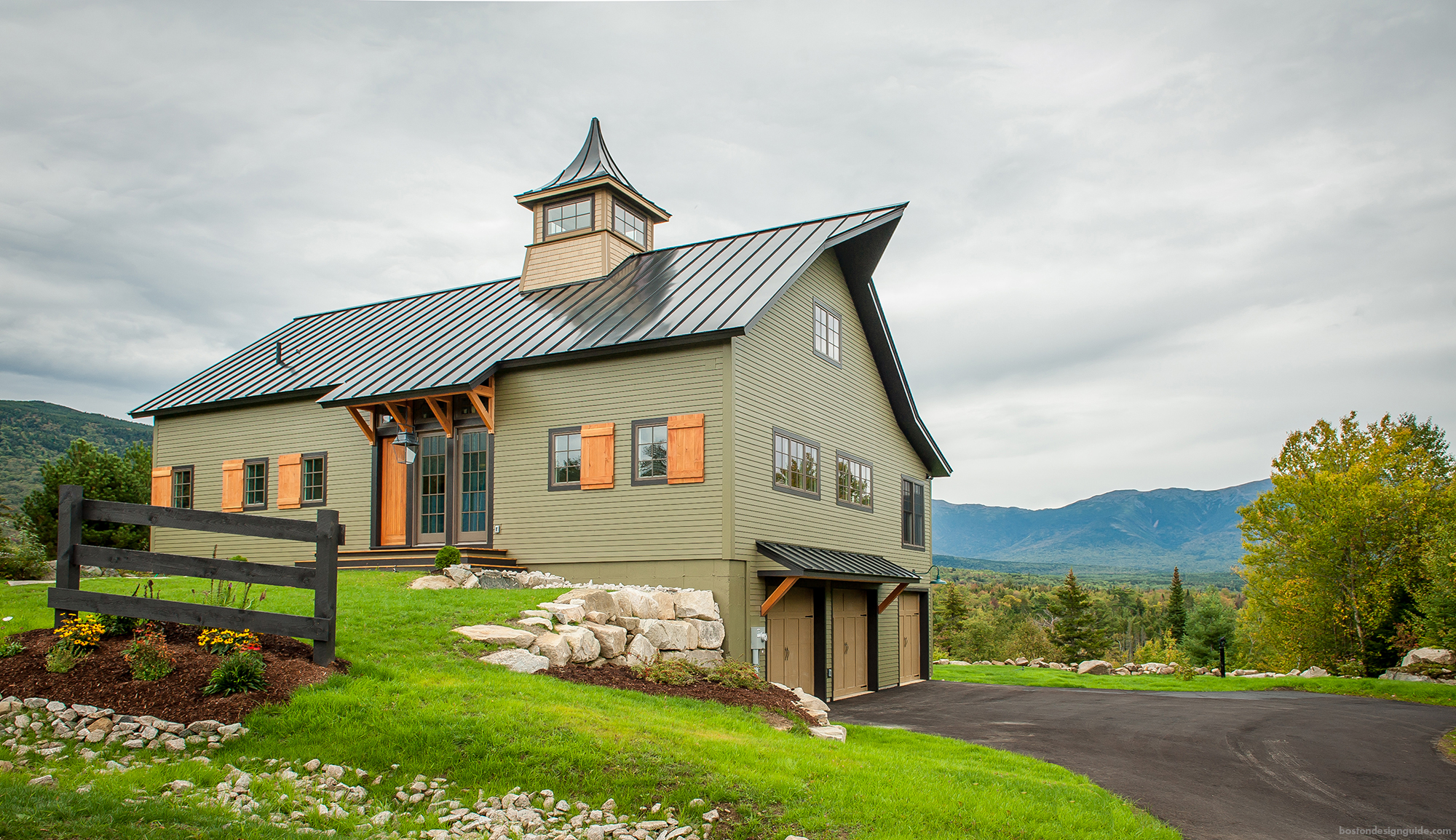 Yankee barn homes for Home palns