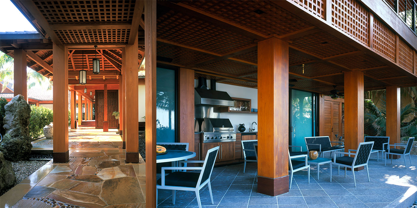 Architectural and landscape design inspired by Japan by ZEN Associates, Inc.